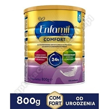 Enfamil Comfort mleko modyfikowane w proszku 800 g zaburzenia trawienia+Mufka do wózka