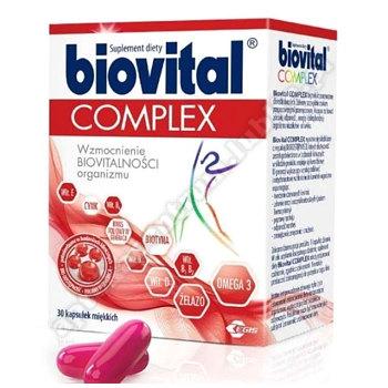 Biovital Complex kaps.miękkie 30 kaps