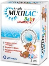 Multilac  BABY Synbiotyk Krople 5 ml SUPER CENA d.w. 2021.09.30