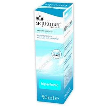 Aquamer Hipertonic Aerozol do nosa 50ml