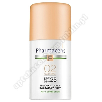 PHARMACERIS F Fluid matuj.02 NATURAL