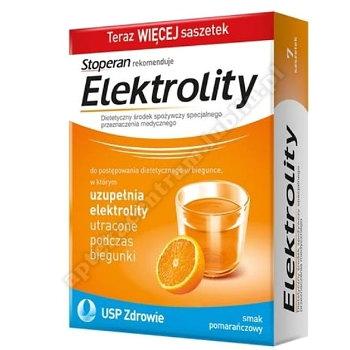 Elektrolity smak pomarańcza prosz. 7sasz.