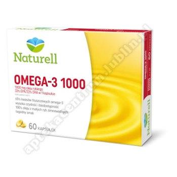 NATURELL Omega-3 1000 60 kaps.