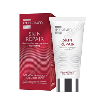 EMOLIUM SKIN REPAIR Krem do stóp dermonaprawczy 100ml-d.w.2021.05.31