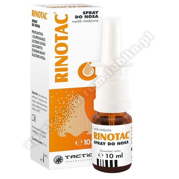 RINOTAC sprayd/nosa 10ml(butelka z pompką)