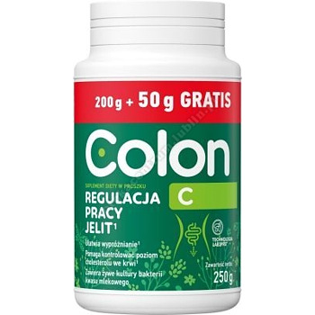 Colon C prosz. 200 g+Colon Slim 20g (4 saszetki) GRATIS