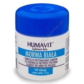 Humavit Morwa Biala tabletki 180 tabl.