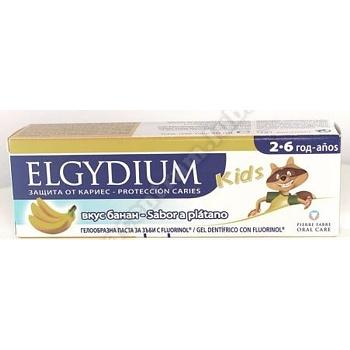 ELGYDIUM KIDS Pasta d/zęb. p/próchnic. banan