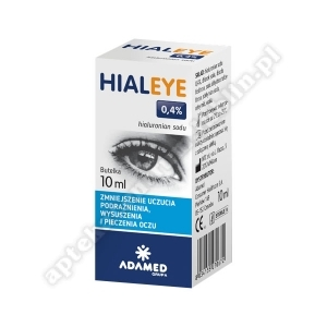 Hialeye 0, 4% krop. do oczu 10 ml