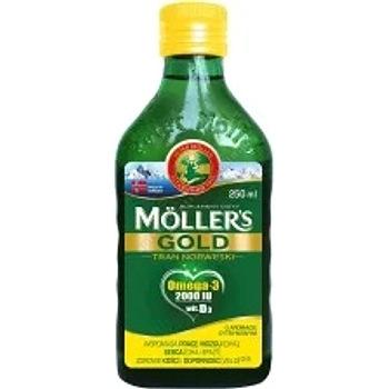 Mollers Gold Tran Norweski płyn 250 ml termin ważnośc 2020.05.31