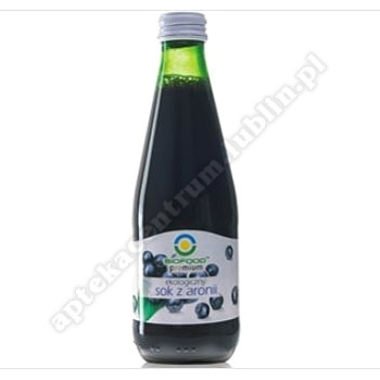 SOK Z ARONII BIO 300 ml - BIO FOOD