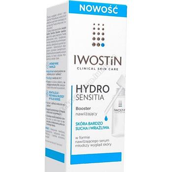 IWOSTIN HYDRO SENSITIA Booster Żel nawilżający 30 ml d.w.2021.05.31