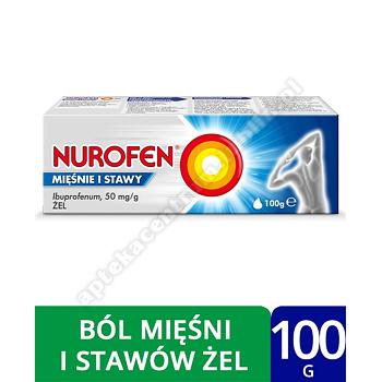 Nurofen Mięśnie i Stawy żel 5% ibuprofen leki przeciwzapalne 100 g