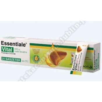 Essentiale Vital pastadoustna 0,6g 21sasz.