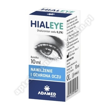 Hialeye 0,2 %  krop.do oczu 10 ml