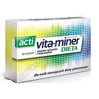 Acti Vita-miner Dieta tabl. 30 tabl.-2020.03.31