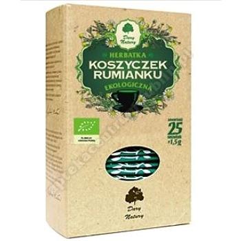 Herbatka z koszyczków rumianku bio 50 g  (25 x 2.0 g)