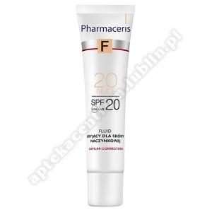 PHARMACERIS F Fluid kryjący dla skóry naczynkowa