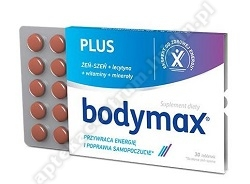 Bodymax Plus 30 tabletek 1 blister.