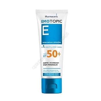 PHARMACERIS E EMOTOPIC Krem mineralny SPF 50+ 75ml