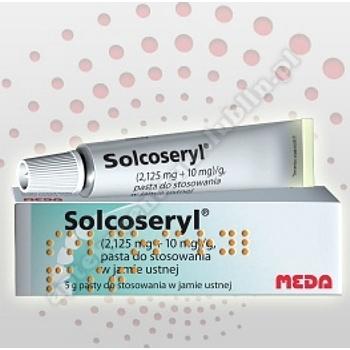 Solcoseryl adhesive pasta d/stos. w jamie ustnej 5g.