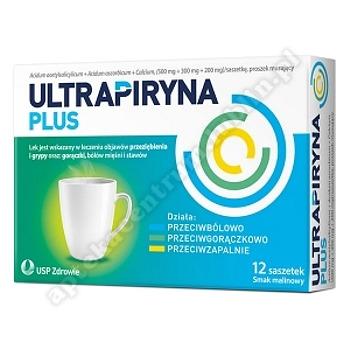Ultrapiryna Plus prosz.musuj.12 saszetek