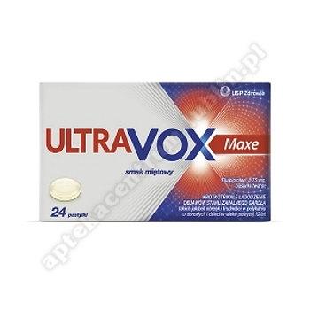 Ultravox Maxe miÄ™towy 24 pastyl. 8,75mg