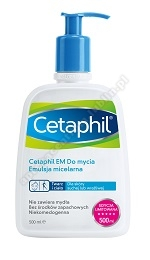 CETAPHIL EM emul.micelarna do mycia 500ml