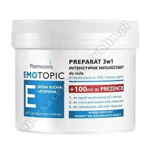 PHARMACERIS E EMOTOPIC Preparat 3W1 500 ml