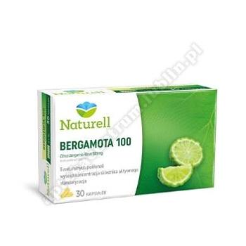Naturell Bergamota 100 kaps. 30 kaps.