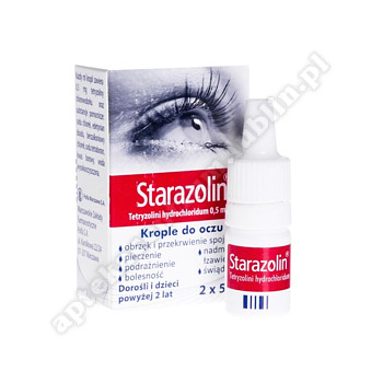 Starazolin 0.05% krople do oczu 2x5ml