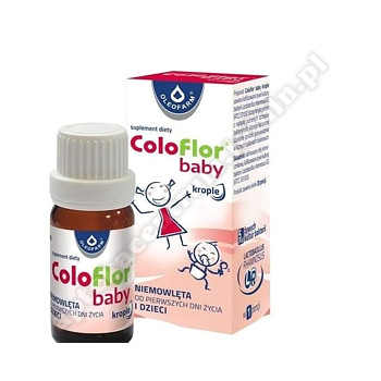 Coloflor baby krop.doustne 5 ml