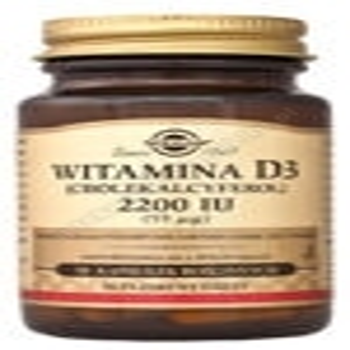 SOLGAR Witamina D3 2200 IU (55ug) 50 kaps