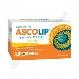 Ascolip Liposomalna Vit  C 1000mg żel 30saszetek