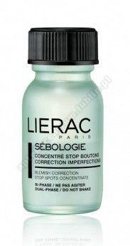 LIERAC SEBOLOGIE Koncentrat  Dwufazowy na wypryski 15 ml