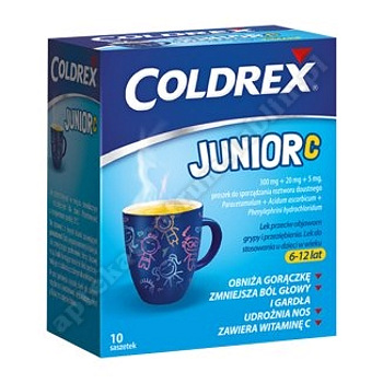 Coldrex Junior C prosz.dosp.zaw.doust.10 sasz.