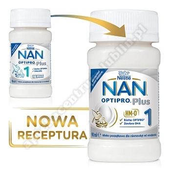 NESTLE NAN OPTIPRO Plus 1 mleko płyn 90ml (Nan Pro 1)