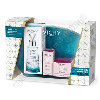 VICHY MINERAL 89 50ml + IDEALIA xmas 18 (Vichy idealia 15 ml+serum 3 ml)