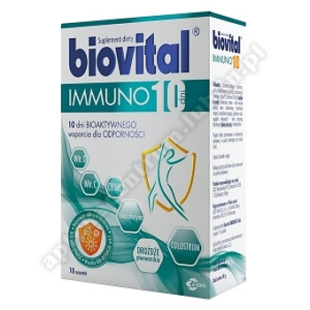 Biovital Immuno10 dni saszet. 10 sasz.