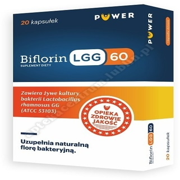 BiFlorin LGG 60 kaps.twarde 20 kaps
