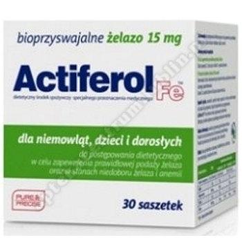 ActiFerol Fe 15 mg prosz.dorozp. 30sasz.