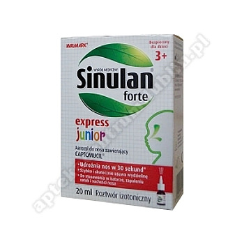 Sinulan Express Forte Junior aer.donosa 20 ml-d.w.2021.03.31