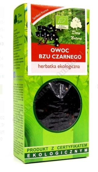 Herbatka owoc bzu BIO 100g DARY NATURY