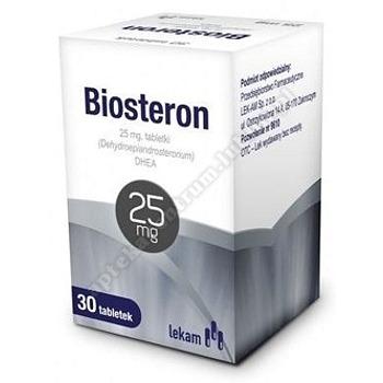 Biosteron tabl. 0,025 g 30 tabl.