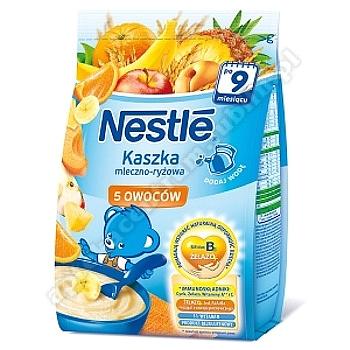 NESTLE Kaszka mlecz.-ryż. 5 owoców 230g