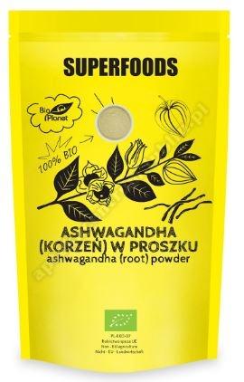Ashwagandha(korzeń) w proszku BIO 150g