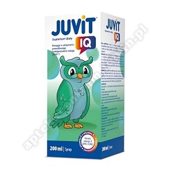 Juvit IQ syrop 200 ml