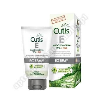 CUTIS E - EGZEMA maść konopna 17% + CBD 12
