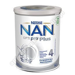 NESTLE NAN OPTIPRO plus 4 mleko 800 g
