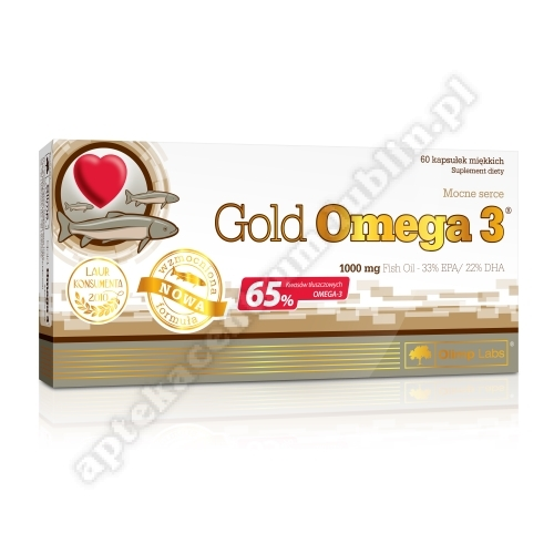 OLIMP Gold Omega 3 1000mg x 60 kaps.miękkie